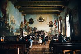 Santa Barbara County Courthouse Mural Room by Alison Dylan Elopement Santa Barbara Courthouse U2014 The Hearts