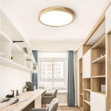 büro warmweiß runde holz le für wohnzimmer schlafzimmer