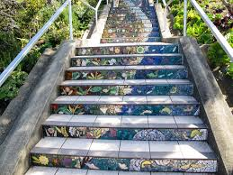 16th Avenue Tiled Steps In San Francisco by Traversing San Francisco U0027s 16th Avenue Tiled Steps