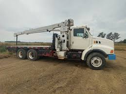 100 Boom Truck 1998 Ford 9000 Ta Crane Boom Cat Shields Auctions