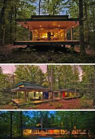 100 House In Forest Pin On Architectural Aesthetics
