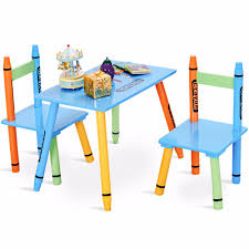Giantex 3 Piece Crayon Kids Table & Chairs Set Wood Children ... Tot Tutors Playtime 5piece Aqua Kids Plastic Table And Chair Set Labe Wooden Activity Bird Printed White Toddler With Bin For 15 Years Learning Tablekid Pnic Tablecute Bedroom Desk New And Chairs Durable Childrens Asaborake Hlight Naturalprimary Fun In 2019 Bricks Table Study Small Generic 3 Piece Wood Fniture Goplus 5 Pine Children Play Room Natural Hw55008na Nantucket Writing Costway Folding Multicolor Fnitur Delta Disney Princess 3piece Multicolor Elements Greymulti