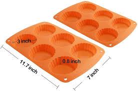 backblech für 6 torten mini kuchen backform form zum backen