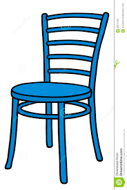 Blue Chair Stock Vector Image Of Sitting School Classic