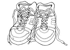 Shoes Coloring Pages Printable Fun Color Page Drawing