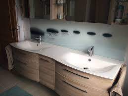 glasrückwand im bad glas bartosch der profi rund um s