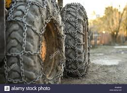 100 Truck Chains Photo Detail With Snow Tire Chains On Big Truck Wheel Stock Photo