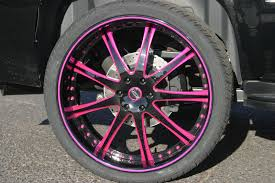 100 Black And Chrome Rims For Trucks Hot Pink Chrome Wheelsrims Would Be SWEET On An All Black