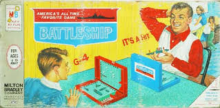 Vintage Battleship Board Game This Was The Exact Box We Had