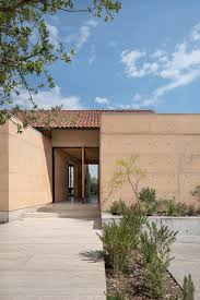 100 Cca Architects Cca Blends An Earthy Concrete Home Into Its Arid