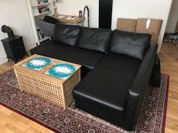 Friheten Corner Sofa Bed Dimensions by Friheten Corner Sofa Bed With Storage Bomstad Black In Sydenham