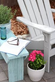Distressed Wood Outdoor Side Table Satori Design for Living