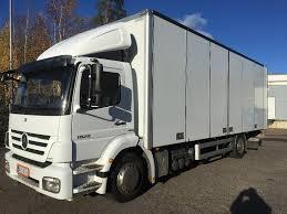 100 Mercedes Box Truck MERCEDESBENZ Axor 1829 4x2 Kylkiaukeava Closed Box Trucks For Sale