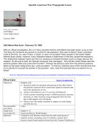 Sinking Of The Uss Maine Newspaper by Spanish U2013 American War Propaganda Lesson