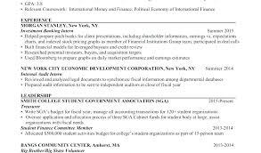 Standard Resume Format Templates Doc