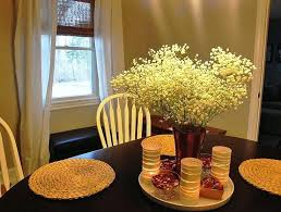 Table Centerpieces For Home Dining Room Floral Decoration Christmas