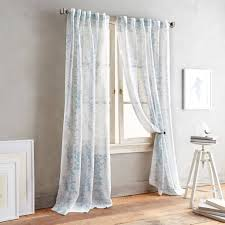 Lush Decor Serena Window Curtain by Dkny Front Row Back Tab Sheer Window Curtain Panel Window