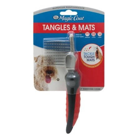 Four Paws Magic Coat Adjustable Tangle & Mat Breaker - with Blade