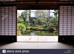 100 Www.home And Garden A Traditional Japanese House And Garden With Carp Swimming