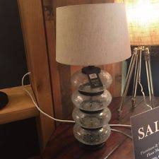 Pottery Barn Floor Lamps Discontinued by Pottery Barn Glass Lamps Ebay