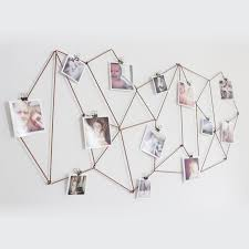 View In Gallery Geometric String Photo Display