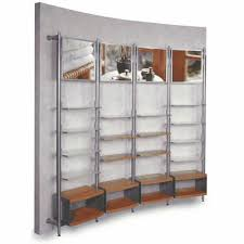 4 Module Wall Display System Retail Store Shelves Intended For Shelving Systems Plans 6