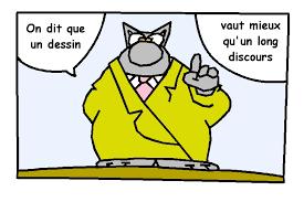 humour pot de depart dessiner le chat de gelück