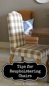 Crate And Barrel Lowe Chair Slipcover by Tips For Re Upholstering Dining Chairs Lilacs And
