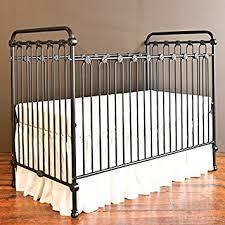 amazon com bratt decor joy baby crib distressed black baby