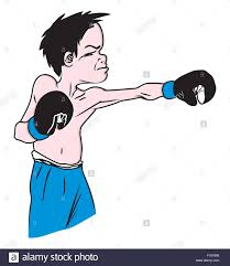 Vector Illustration Of The Boxing