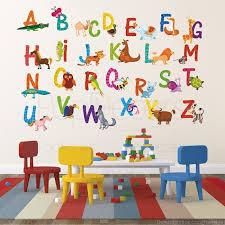 Alphabet Letters Wall Decor Magnificent Nursery Abc Alphabet Wall