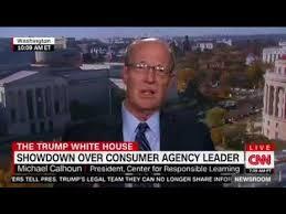 consumer bureau protection agency cnn segment on consumer financial protection bureau leadership with