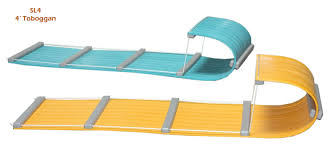 4 Poly Lumber Tobggans Available In All Colors