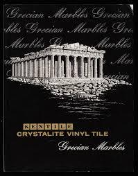 Hartco Flooring Oneida Tn by Kentile Crystalite Vinyl Tile Grecian Marbles Kentile Floors