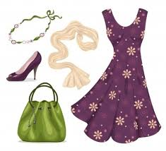 Womens Clothing Cliparts