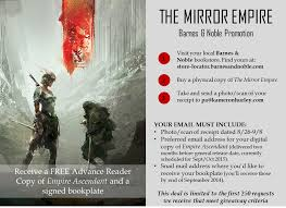 MIRROR EMPIRE Is Out! Buy From B&N & Get Second Book... FREE ... Cougar Valley Pta Elementary School Silverdale Wa Barnes Noble Education Inc 2017 Q3 Results Earnings Call 7 Tools To Turbocharge Your Email Efficiency Bookfair Midland Need To Read Am Inbox First Ference Memorial Day Oracle Marketing Cloud Becoming_a_leaderpdf Books By Jhill Straight Up Evangelist Its Finally Here Chic Sketch Httpwwwcomemailgalry579barnesandnoble Ebay Save On Gift Cards For Itunes Southwest Dominos Best Buy 8 Barnes And Noble Cover Letter Job Apply Form Take These Tips Turn Subscribers Into Customers