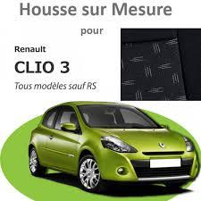 housse siege clio 3 premium pour renault clio 3 bancarel housses