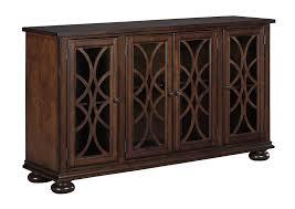 Furniture World Petal MS Baxenburg Brown Dining Room Server