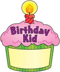 Birthday cupcake clipart 3