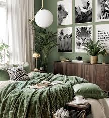 schwarze safari bilderwand tierposter schlafzimmer ideen goldrahmen
