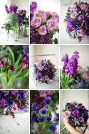 A Hand Tied Vintage Bridal Bouquet Recipe Of Spring Purples