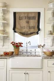 Skip The Boring Store Bought Kitchen Curtains And Turn A Vintage Burlap Potato Or Coffee