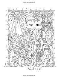 IColor Cats Sunshining Hearts Adult ColoringColoring BooksHeartsAdult