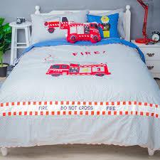 100 Fire Truck Bedding Cushion