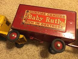 Original 1930-40's Buddy L Baby Ruth-Butterfinger Tandem Truck!! RARE!!