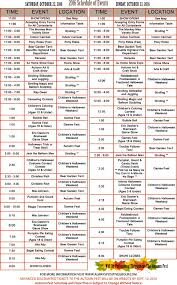 Spring Hope Pumpkin Festival Schedule by Autumn Fest Pitman New Jersey Always Positive Group
