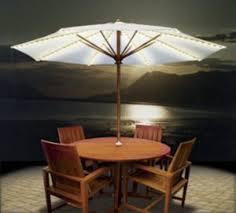 Top Five Best Umbrella Lights Patio Umbrella Light OutsideModern