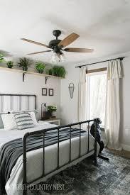 One Room Challenge Week Seven Rustic Industrial Guest Bedroom Final Reveal