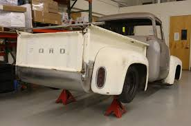 100 Dennis Carpenter Ford Truck Parts Installing A Roll Pan On A 1956 F100 Hot Rod Network