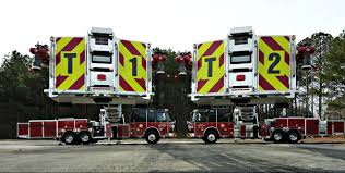 100 New Fire Trucks Valdosta Department Unveils Two Sutphens Sutphen
